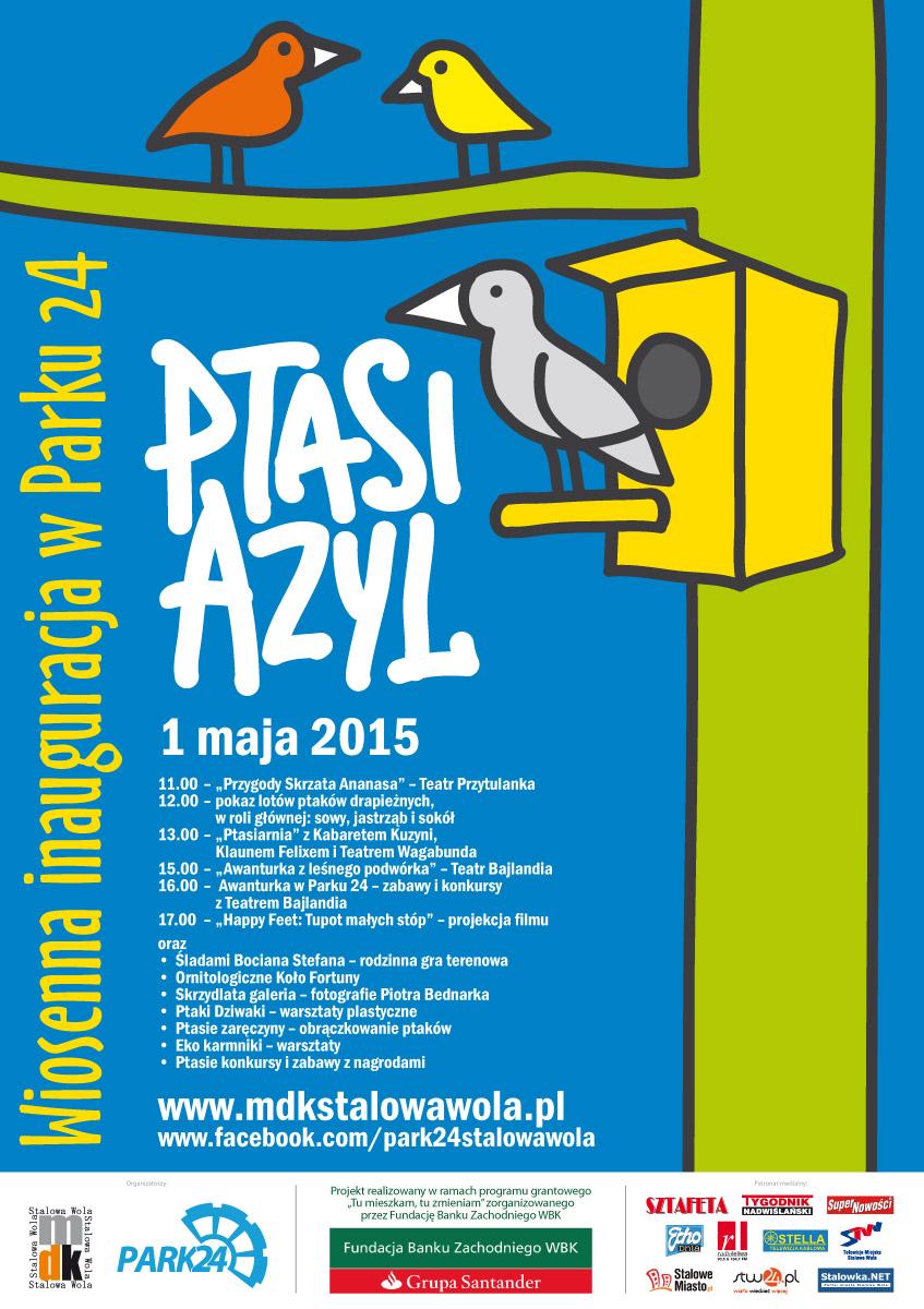 PTASI AZYL 2 plakat B2 _DRUK.indd